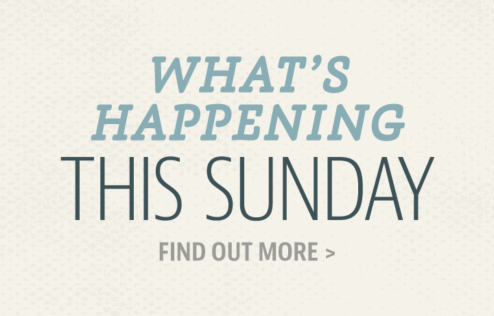 Happening This Sunday